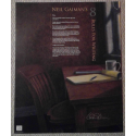 NEIL GAIMAN'S  EIGHT RULES FOR WRITING SIGNED LIMITED EDITION POSTER
