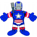 IRON PATRIOT 10 INCH PLUSH MARVEL UNIVERSE US AVENGERS