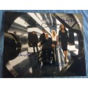 X-MEN CAST AUTOGRAPHED 8x10 PHOTO - SIGNED BY HUGH JACKMAN, HALLE BERRY, FAMKE JANNSE, JAMES MARSDEN, AND PATRICK STEWART