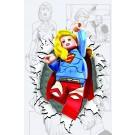 SUPERGIRL #36 LEGO VAR ED