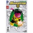 SINESTRO #7 LEGO VAR ED