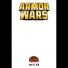ARMOR WARS #1 BLANK VARIANT SWA