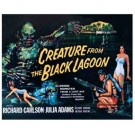 CREATURE FROM THE BLACK LAGOON MOVIE POSTER METAL/TIN SIGN