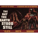 Day the Earth Stood Still Metal/Tin Sign
