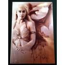 Daenerys Targaryen - Khaleesi - Game of Thrones - Signed Rob Prior Print