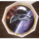 Romulan Warbird ~ Star Trek 'The Voyagers' Series Plate Collection