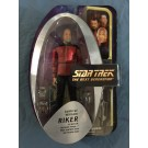 ADMIRAL WILLIAM RIKER - STAR TREK THE NEXT GENERATION - ALL GOOD THINGS - PX EXCLUSIVE ACTION FIGURE