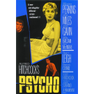 ALFRED HITCHCOCKS PYSCHO MOVIE MASTERPRINT