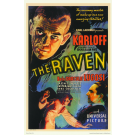 BORIS KARLOFF THE RAVEN MOVIE MASTERPRINT