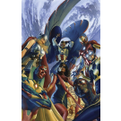 ALL NEW ALL DIFFERENT AVENGERS #1 BY ALEX ROSS POSTER