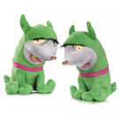 CRACKERS & GIGGLES DC SUPER PETS PLUSH TOY 2 PACK
