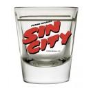 SIN CITY LOGO SHOT GLASS