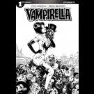 VAMPIRELLA #1 COVER F 10 COPY BROXTON BLACK & WHITE INCENTIVE VARIANT