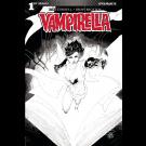 VAMPIRELLA #1 COVER G 20 COPY TAN  BLACK & WHITE INCENTIVE VARIANT